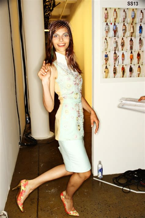 Runway Backstage At Som by Som Ss13 Fashion Show New York Backstage Sonny Photos