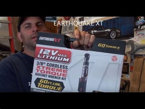 earthquake xt ratchet harbor freight cordless ratchet review earthquake xt