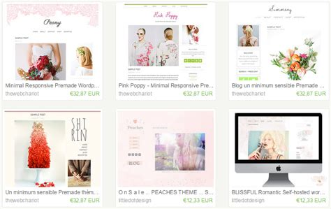 blog themes etsy trouver un th 232 me wordpress sur etsy yes we blog