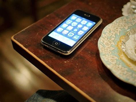 phone on the table your lost phone probably is at a coffee shop or restaurant
