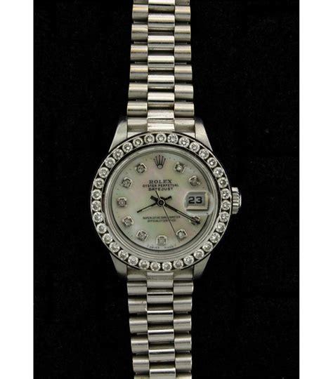 Rolex Diamon Kw rolex ladys st steel rolex o p date wristwatch w aftmkt