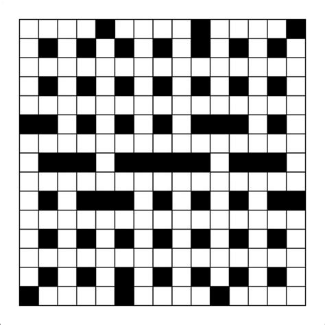 crossword puzzle template blank crossword template crossword template free