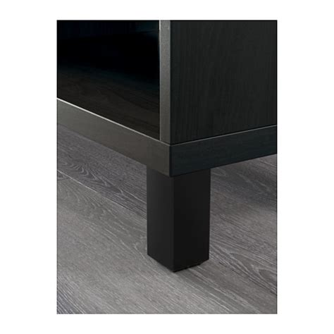 ikea besta back panel best 197 tv bench black brown 120x40x48 cm ikea