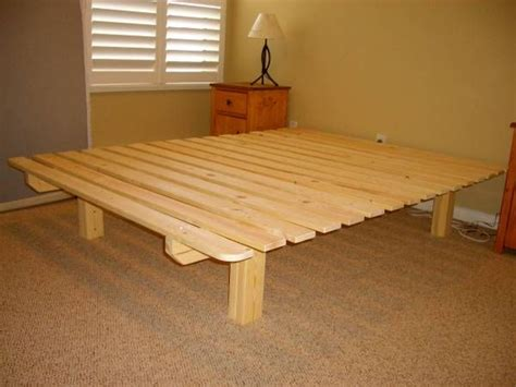 bed frame from pallets diy pallet bed frame diy pinterest pallet bed frames