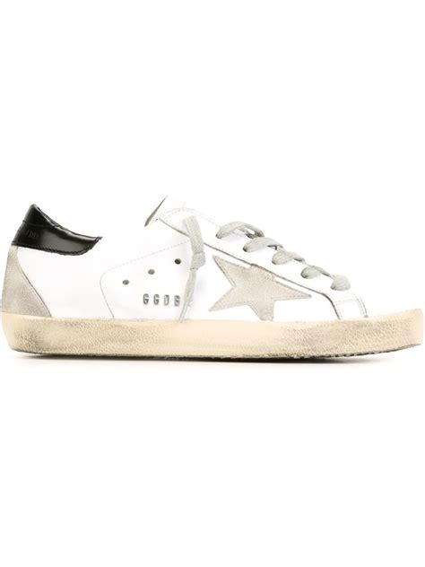 golden goose shoes golden goose deluxe brand sneakers in white lyst