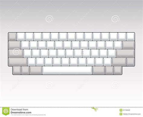 template of keyboard computer keyboard templates clipart