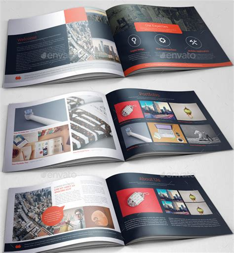 portfolio brochure template 30 eye catching psd indesign brochure templates web