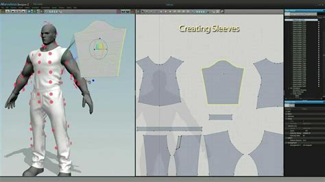 jeans pattern software game character clothing design in marvelous designer md2