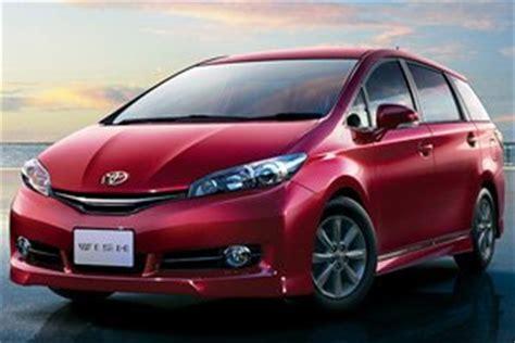 Toyota Wish Price In Singapore New Toyota Wish Car Prices Photos Specs Features