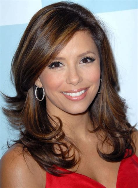 pictures of very long hair flipped up eva longoria hairstyles flip up hairstyle pretty designs