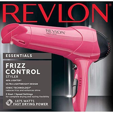 Revlon Essentials Frizz 1875w revlon 1875w frizz lightweight hair dryer buy
