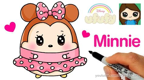 Ufufy Disney Mickey Mouse how to draw minnie mouse easy disney ufufy