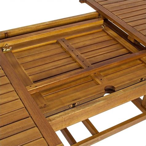 tavolo giardino legno tavolo giardino rettangolare allungabile legno naturale
