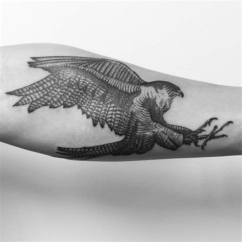 white whale tattoo my peregrine falcon by jerimiah griswald