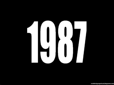 new year 1986 1987 1987 meaning