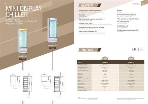 Mini 2 Turun penang mini display chiller display chillers coolers