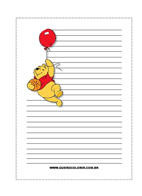 winnie the pooh writing paper winnie the pooh writing paper 28 images pin by marina