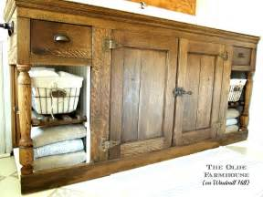 farmhouse vanities the olde farmhouse on windmill hill bathroom update 4