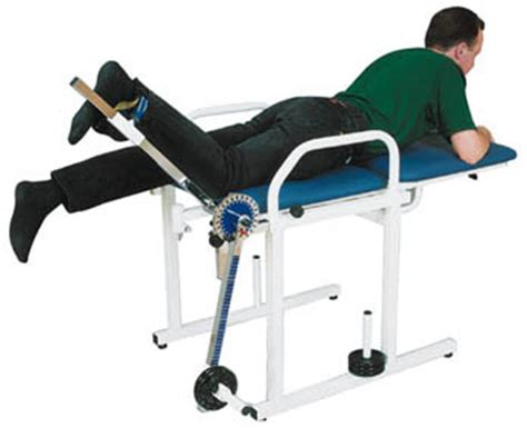 quadriceps bench 25614 quadriceps exercise bench fysiomed fysiomed