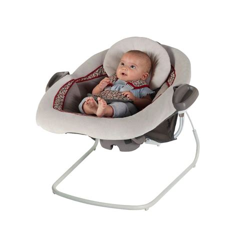 baby swings for larger babies com graco duetconnect lx swing bouncer finley