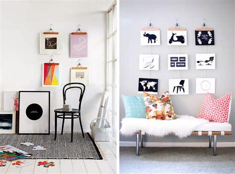 decoracion perchas decorar paredes con perchas de ropa deco pinterest