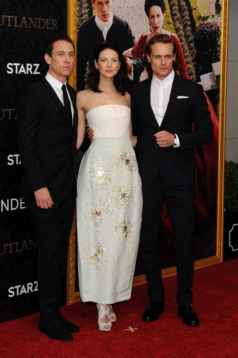 lucy walters picture 2 outlander season 2 premiere red sam heughan in quot outlander quot season 2 premiere nyc zimbio