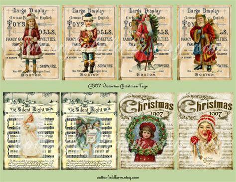 printable victorian christmas tags items similar to victorian christmas tags digital sheet c