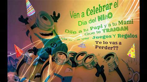 dia del nio 2016 anses plus metodowesley uruguay invitaci 243 n para el d 237 a del ni 241 o