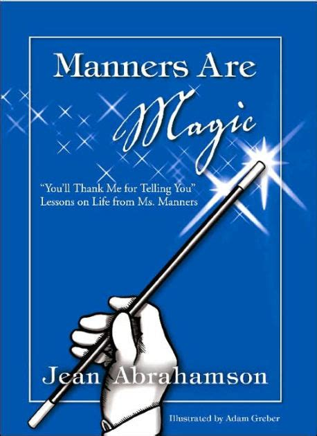libro manners manners are magic by jean abrahamson paperback barnes noble 174