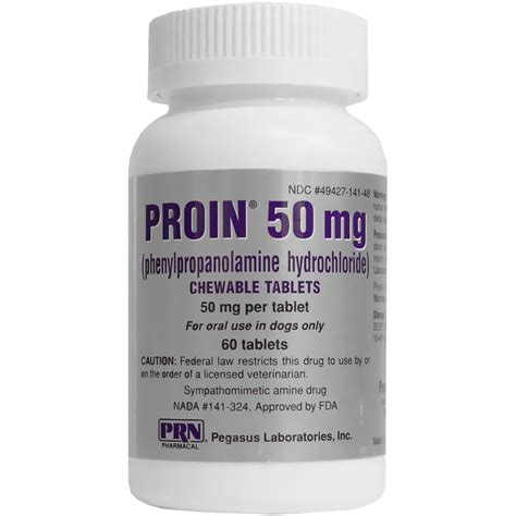 proin for dogs proin 50 mg 60 chewable tablets