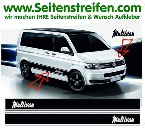 Decal Striping Sticker Klx 041 Glossy vw t4 t5 multivan pulp fiction style side stripe