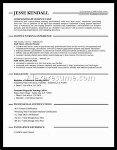 Sle Resume For Entry Level Lpn New Graduate Lpn Resume Sle 28 Images Application