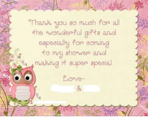 Thank You For Baby Shower At Work by 25 Best Ideas About Thank You Card Wording On