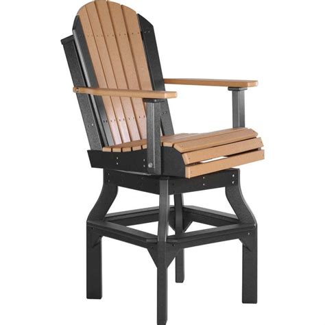 Luxcraft Adirondack Chairs by Luxcraft Poly Adirondack Swivel Chair 183 Hostetler S Furniture