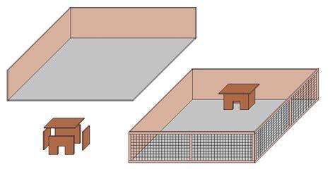 pvc boden um toilette verlegen kaninchenstall selber bauen 187 www selber bauen de