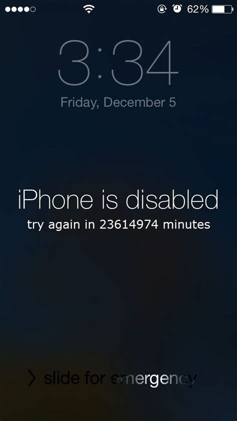 iphone is disabled iphone is disabled try again in 23614974 minutes 9to5mac