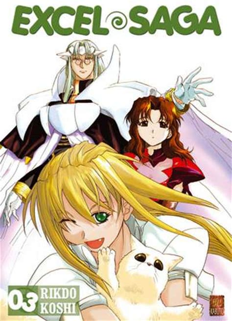 Excel Manhwa vol 3 excel saga news