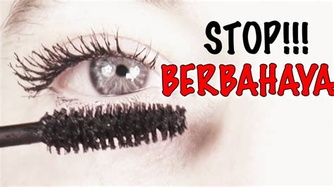 Eyeliner Dan Maskara hati hati pake eyeliner dan maskara terlalu sering akan