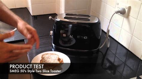 Retro Kettle And Toaster Smeg Retro 50 S Style Two Slice Toaster Tsf01 Unboxing