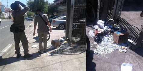 Tv Di Alaska Makassar beredar satpol pp di makassar hamburkan sah di