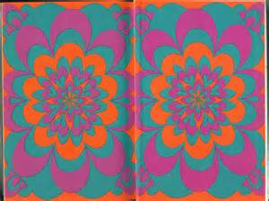 60s colors paper texture 60s 70s pattern sharp colors by