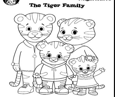 coloring pages daniel the tiger free daniel tiger coloring page printable cartoons