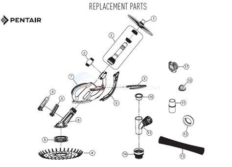kreepy krauly parts diagram kreepy krauly kruiser 2012 and after parts inyopools