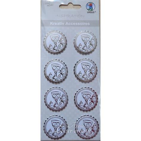 3d Sticker Kommunion by Sticker Communion 3d Calice Argent 3cm Par 8