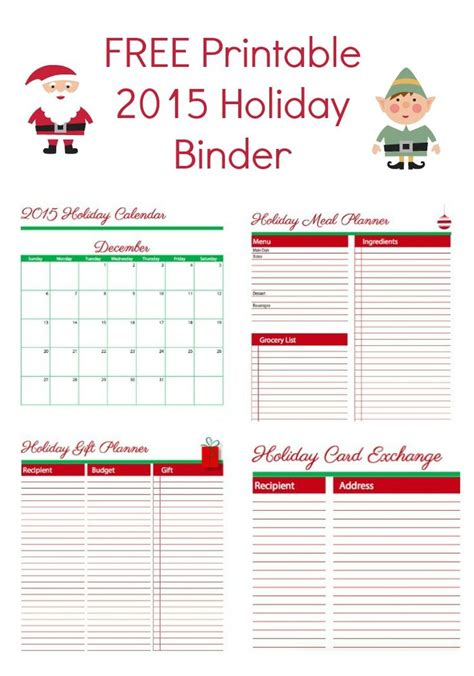 free printable christmas planner set stay organized this 790 best freebies images on pinterest debt free free