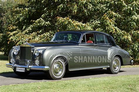 rolls royce silver cloud rolls royce silver cloud ii saloon auctions lot 19
