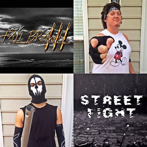 backyard street fights backyard wrestling ccw fall brawl iii street fight