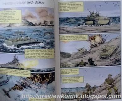 Komik Historical review komik pulau terror pertempuran iwo jima