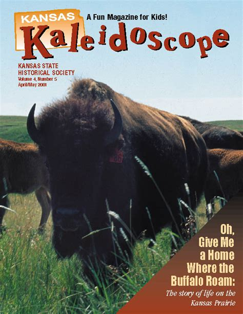 kansas kaleidoscope april may 2001 kansas historical