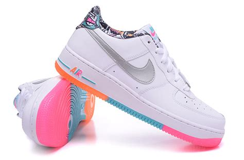 colorful air ones nike air one white colorful mens shoes